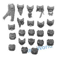 WARHAMMER 40K BITS - SPACE WOLVES SKYCLAWS - TORSOS 11x