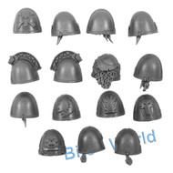 WARHAMMER 40K BITS - SPACE WOLVES SKYCLAWS - SHOULDER PADS 15x
