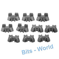 WARHAMMER 40K BITS - SPACE WOLVES SKYCLAWS - JUMP PACKS 5x