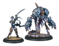 Hordes: Legion of Everblight - Bethane, Voice of Everblight & Belphagor - Blighted Nyss Warlock & Character Light Warbeast