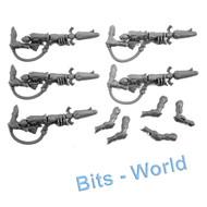 WARHAMMER 40K BITS - ELDAR WRAITHGUARD/BLADES - WRAITHCANNONS & ARMS 5x