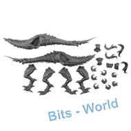 WARHAMMER/40K BITS: CHAOS DAEMONS SEEKER CHARIOT - SLAANESH STEEDS 2x