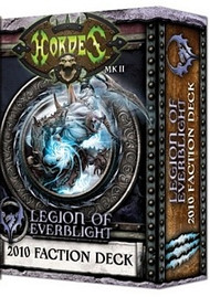 HORDES MKII – 2010 Legion of Everblight Deck
