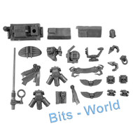 WARHAMMER 40K BITS: SPACE MARINES LAND RAIDER CRUSADER/REDEEMER - ACCESSORIES
