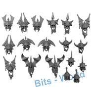WARHAMMER BITS - VAMPIRE COUNTS GRAVE GUARD - HEADS 18x