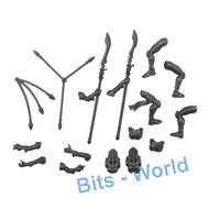 WARHAMMER 40K BITS: HARLEQUINS SKYWEAVERS - RIDERS 2x