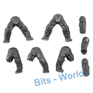 WARHAMMER 40K BITS: ASTRA MILITARUM TEMPESTUS SCIONS/COMMAND - LEGS 5x