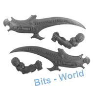 WARHAMMER BITS: TOMB KINGS KHEMRIAN WARSPHINX/NECROSPHINX - ARM BLADES x2