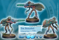 Infinity: Combined Army - The Shrouded - Sniper