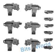 WARHAMMER 40K BITS - SPACE MARINES CENTURION DEV SQUAD - T-L HEAVY BOLTERS 3x