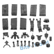 WARHAMMER 40K BITS: SPACE MARINES VENERABLE DREADNOUGHT - ARMOR/PLATES/EXTRA