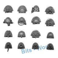 WARHAMMER 40K BITS: SPACE MARINES STERNGUARD - SHOULDER PADS 16x