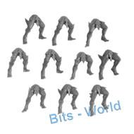 WARHAMMER BITS: DARK ELVES CORSAIRS - LEGS X10