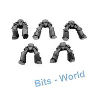 WARHAMMER 40K BITS: SPACE MARINES TERMINATOR SQUAD - LEGS 5X