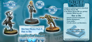 Infinity: Haqqislam - Dire Foes Mission Pack 4: Flee or Die (Hassassin VS Military Order) Yasbir, Konstantinos, VIP Executive