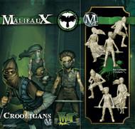 Malifaux: Resurrectionists - Crooligans (3 pack)