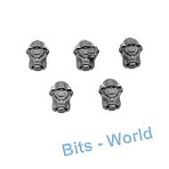 WARHAMMER 40K BITS: SPACE MARINES TERMINATOR SQUAD - HEADS 5x