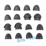 WARHAMMER 40K BITS: SPACE MARINES COMMAND SQUAD - SHOULDER PADS 16x