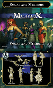 Malifaux: Arcanists - Colette Crew (Smoke and Mirrors)