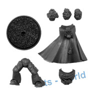 WARHAMMER 40K BITS - SPACE MARINES COMMANDER - BODY & HEADS