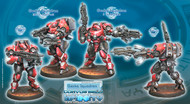 Infinity: Nomads - Gecko Squadron