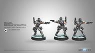 Infinity: ALEPH - Acmon, Sergeant of Dactyls - 2 Breaker Pistols