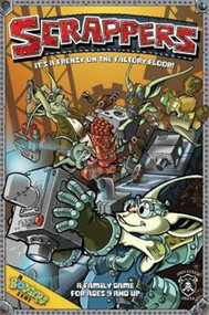 Privateer Press: Board Game - Scrappers: A Bodgers Board Game
