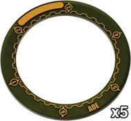 "Warmachine: Accessories - 3"" Area of Effect Ring Markers"