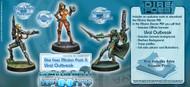 Infinity: Tohaa - Dire Foes Mission Pack 5: Viral Outbreak (Tohaa VS Shasvastii) Aelis Keesan, Hasht, HAZMAT A1 Specialist