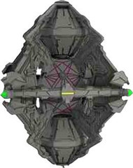 Star Trek Attack Wing: Borg - Queen Vessel Prime Expansion Pack
