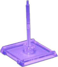 Star Trek Attack Wing: Dominion - (Purple) Faction Base/Pegs Set