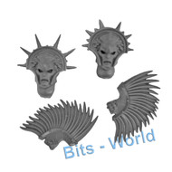 WARHAMMER BITS: STORMCAST ETERNALS DRACOTHIAN GUARD - HEADS x2
