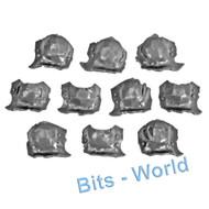 WARHAMMER BITS: ORCS & GOBLINS ORRUK BRUTES - SHOULDERPADS x10