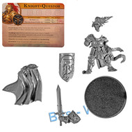 WARHAMMER BITS: WARHAMMER QUEST SILVER TOWER - KNIGHT QUESTOR W/CHARACTER CARD