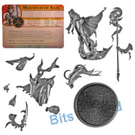 WARHAMMER BITS: WARHAMMER QUEST SILVER TOWER - MISTWEAVER SAIH W/CHARACTER CARD