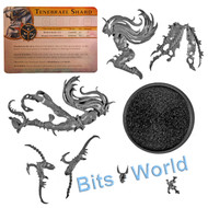 WARHAMMER BITS: WARHAMMER QUEST SILVER TOWER - TENEBRAEL SHARD W/CHARACTER SHARD