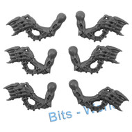 WARHAMMER 40K BITS: TYRANID WARRIORS - SPINEFISTS 6x