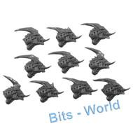 WARHAMMER 40K BITS: TYRANID GARGOYLE - HEADS 10X