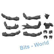 WARHAMMER 40K BITS: TYRANID HIVE GUARD - FRONT WALKING HANDS 3x