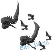 WARHAMMER 40K BITS: TYRANID TYRANT/SWARMLORD - SWARMLORD / TYRANT HEADS
