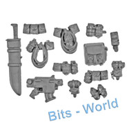 WARHAMMER 40K BITS: SPACE MARINES SCOUT SQUAD - GRENADES AND ACCESSORIES