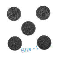 WARHAMMER 40K BITS: SPACE MARINES SCOUT SQUAD - 25mm BASES x5