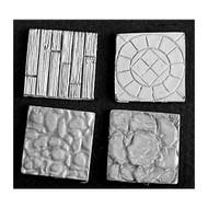 """Reaper Miniatures: Accessories: 1"""" Square  Scenic Base (4)"""