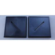 Reaper Miniatures: Accessories: 40mm Square Plastic Base (10)
