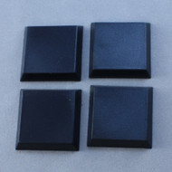 "Reaper Miniatures: Accessories: 1"" Square Plastic Flat Top Base (20)"