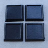 "Reaper Miniatures: Accessories: 1"" Square Plastic Gaming Base (no slot) (20)"