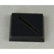 "Reaper Miniatures: Accessories: 1"" Square Plastic Base, Universal Slot (12)"