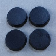 Reaper Miniatures: Accessories: 20mm Round Plastic Flat Top Base (25)