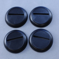 Reaper Miniatures: Accessories: 30mm Round Plastic Display Base (12)