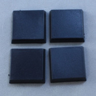 Reaper Miniatures: Accessories: 20mm Square Plastic Flat Top Base (25)